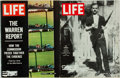 Books:Periodicals, [Kennedy Assassination, Lee Harvey Oswald]. Group of Two Issues ofLife with Iconic Cover Images. February 21, 1... (Total: 2Items)
