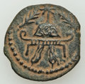Ancients:Judaea, Ancients: JUDAEA. Herodian Kings. Herod I the Great (40-4 BC). Æ 8prutot (5.60 gm). ...