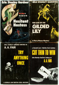 Books:Mystery & Detective Fiction, Erle Stanley Gardner. Group of Four First Edition, First Printing Books, Two Perry Mason and Two Donald Lam... (Total: 4 Items)