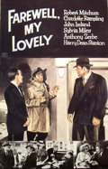 Mainstream Illustration, Lomasney, John J. (1899-1989). Farewell My Lovely, 1975.Mixed media on artboard. 44 x 28 in.. Benefiting Lifebeat...