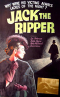 Mainstream Illustration, Lomasney, John J. (1899-1989). Jack the Ripper, 1959. Mixedmedia on artboard. 44 x 28 in.. Benefiting Lifebeat. ...