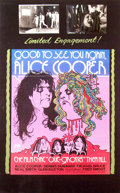 Mainstream Illustration, Lomasney, John J. (1899-1989). Good to See You Again, AliceCooper, 1974. Mixed media on artboard. 44 x 28 in..Bene...