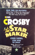 Mainstream Illustration, Lomasney, John J. (1899-1989). The Star Maker, 1939. Mixedmedia on artboard. 44 x 28 in.. Benefiting Lifebeat. ...