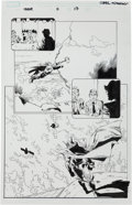 Original Comic Art:Splash Pages, Olivier Coipel and Andy Lanning Thor V3 #11 Half-Splash Page17 Original Art (Marvel, 2008)....