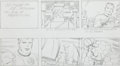 "Original Comic Art:Miscellaneous, Jack Kirby Fantastic Four ""The Menace of Magneto"" Storyboard#41 Original Animation Art (DePatie-Freleng, 1978)...."