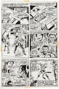 Original Comic Art:Panel Pages, George Tuska and Billy Graham Hero for Hire #2 Page 5Original Art (Marvel, 1972)....