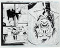 Original Comic Art:Splash Pages, Tony Daniel and Sandu Florea Batman #694 2-Page Spread Pages 2-3Original Art (DC, 2010)....