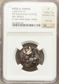 Ancients:Greek, Ancients: ATTICA. Athens. Ca. 440-404 BC. AR tetradrachm (16.81gm). ...