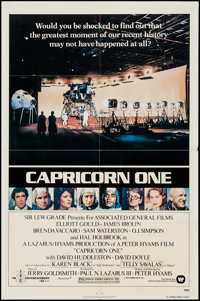 """Capricorn One (Warner Brothers, 1978). One Sheet (27"""" X 41""""). Thriller"""