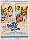 """Movie Posters:Comedy, Wild on the Beach (20th Century Fox, 1965). Poster (30"""" X 40""""). Comedy.. ..."""