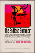 "Movie Posters:Sports, The Endless Summer (Bruce Brown Films, 1966). Autographed Special Poster (11"" X 17""). Sports.. ..."