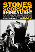"""Movie Posters:Rock and Roll, Shine a Light (Paramount, 2008). IMAX One Sheet (27"""" X 40"""") DS.Rock and Roll.. ..."""