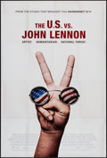 "Movie Posters:Documentary, The U.S. vs. John Lennon (Lions Gate, 2006). One Sheet (27"" X 40"") DS. Documentary.. ..."