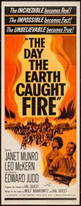 "Movie Posters:Science Fiction, The Day the Earth Caught Fire (Universal-International, 1962).Autographed Insert (14"" X 36""). Science Fiction.. ..."