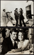 """Movie Posters:James Bond, Diana Rigg in On Her Majesty's Secret Service (United Artists, 1970). Photos (2) (8"""" X 10"""") & Xerox Pages (2) (8.5"""" X 14""""). ... (Total: 3 Items)"""