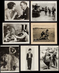 "Movie Posters:Musical, Let's Go Places & Others Lot (20th Century Fox, 1930). Trimmed Photos (5) (Various Sizes), Photo, & Mini Lobby Card (8"" X 10... (Total: 7 Items)"