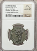 Ancients:Roman Imperial, Ancients: Claudius (AD 41-54). Æ as (10.94 gm)....