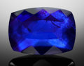 Gems:Faceted, RARE GEMSTONE: DEEP BLUE AZURITE - 7.43 CT.. Morocco. ...