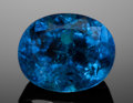 Gems:Faceted, VERY FINE GEMSTONE: NATURAL, SAPPHIRE-BLUE PARAIBA TOURMALINE -2.05 CT. with AGL CERT. Mina da Batalha, Brazil. ...