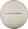 Political:Presidential Relics, Dwight D. Eisenhower: Personally Owned Golf Ball....