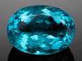 Gems:Faceted, VERY FINE GEMSTONE: NATURAL, TURQUOISE-BLUE PARAIBA TOURMALINE - 1.72 CT. with AGL CERT. Mina da Batalha, Brazil. ...