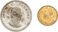 Political:Tokens & Medals, John C. Frémont: Pair of Tokens....