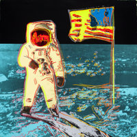 ANDY WARHOL (American, 1928-1987) Moonwalk, 1987 Screenprint in colors on Lenox Museum Board 38 x