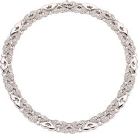 Bvlgari Diamond, Platinum Necklace