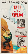 "Movie Posters:Documentary, Tale of the Navajos & Other Lot (MGM, 1949). Three Sheets (2) (41"" X 79"", 41"" X 77""). Documentary.. ... (Total: 2 Items)"
