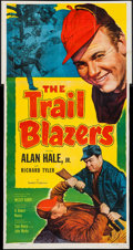 "Movie Posters:Adventure, The Trail Blazers (Allied Artists, 1953). Three Sheet (41"" X 79"").Adventure.. ..."