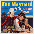 "Movie Posters:Western, The Glorious Trail (First National, 1928). Six Sheet (78"" X 80""). Western.. ..."