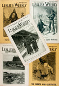 Books:Periodicals, [Chinese History]. Group of Five Issues of Leslie's Weekly related to Chinese History. New York: Frank Leslie, 1...