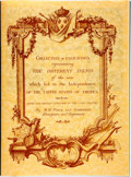 Books:Americana & American History, [American Revolution]. M. M. Ponce and Godefroy. Collection ofEngravings Representing the Different Events of the War w...