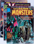 Magazines:Horror, Marvel Horror Magazines Group (Marvel, 1973-79) Condition: Average NM-.... (Total: 6 Comic Books)