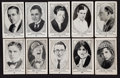 "Non-Sport Cards:Lots, 1922 E123 American Caramel ""Movie Actors and Actresses"" Collection(97). ..."