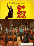 Books:Art & Architecture, [Theatre Program]. Kermit Hunter. Unto These Hills. A Drama of the Cherokee Indian. Western N.C. Associated Comm...