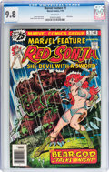 Bronze Age (1970-1979):Adventure, Marvel Feature #5 Red Sonja (Marvel, 1976) CGC NM/MT 9.8 White pages....