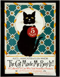 Books:Art & Architecture, [Advertising]. Alice L. Muncaster and Ellen Yanow. The Cat Made Me Buy It! A Collection of Cats Who Sold Yesterday...