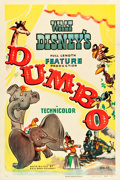 "Movie Posters:Animation, Dumbo (RKO, 1941). One Sheet (27"" X 41"") Style B.. ..."