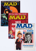 Magazines:Mad, Mad and Related Titles Group (EC, 1959-71) Condition: Average FN.... (Total: 26 Comic Books)