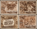 """Movie Posters:Documentary, Nature's Half Acre (RKO, 1951). Lobby Card Set of 4 (11"""" X 14""""). Documentary.. ... (Total: 4 Items)"""