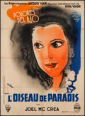 "Movie Posters:Adventure, Bird of Paradise (RKO, 1932). French Grande (46"" X 62.5"").Adventure.. ..."