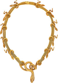Lalaounis Ruby, Gold Necklace