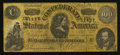 Confederate Notes:1864 Issues, Coca-Cola Ad Note T65 $100 1864.. ...