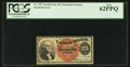 Fractional Currency:Fourth Issue, Fr. 1307 25¢ Fourth Issue PCGS New 62PPQ.. ...