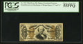 Fractional Currency:Third Issue, Fr. 1332 50¢ Third Issue Spinner PCGS Choice About New 55PPQ.. ...