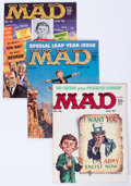 Magazines:Mad, Mad Group (EC, 1959-63) Condition: Average VF-.... (Total: 9 Comic Books)