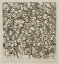 Books:Prints & Leaves, William Hogarth (English artist, 1697-1764). Original Black andWhite Engraving, Entitled Characters and Caricaturas...