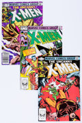 Modern Age (1980-Present):Superhero, X-Men Group (Marvel, 1981-83) Condition: Average NM-.... (Total: 34Comic Books)
