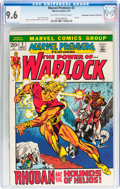 Bronze Age (1970-1979):Superhero, Marvel Premiere #2 Warlock - Don/Maggie Thompson Collection pedigree (Marvel, 1972) CGC NM+ 9.6 Off-white to white pages....